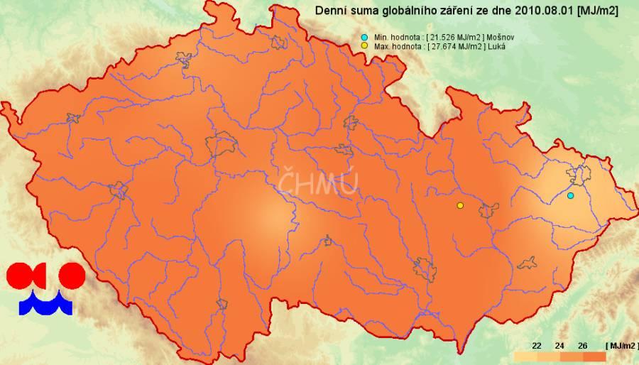 Infomet Informacni Web Chmu Cesky Hydrometeorologicky Ustav