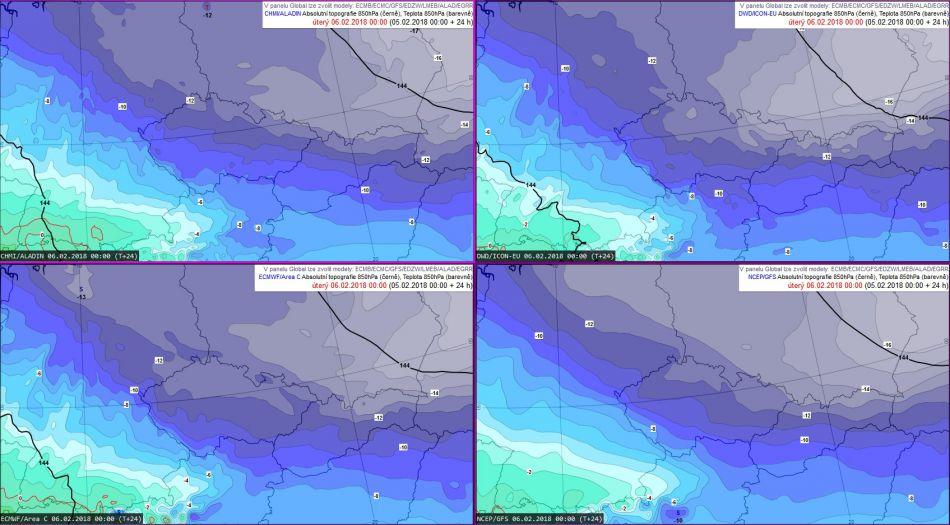 ef0159cb9ac Obr. 1  Teplota v hladině 850 hPa (asi 1
